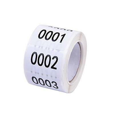 Inventory Labels - Consecutive Number Labels Inventory Stickers - Product