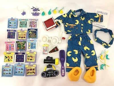 1999 Playmates Doll Amazing Ally Replacement Clothes and Accessories Lot