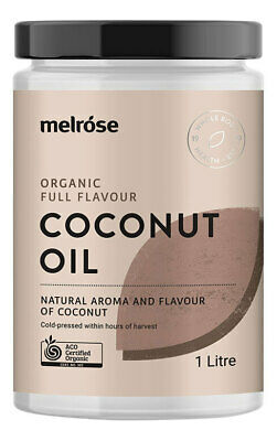 Organic Full Flavour Coconut Oil 1L - Melrose Health