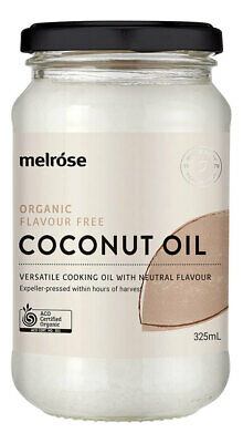 Organic Flavour Free Coconut Oil 380ml - Melrose Health