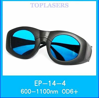 OD6+ CE Safety Glasses Goggles for 650nm 780nm 808nm 980nm 1064nm Laser Protect
