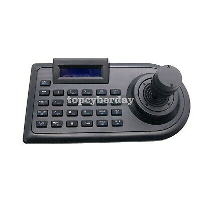 3D 3 Axis PTZ Joystick CCTV PTZ Controller Keyboard RS485 PELCO-D/P LCD Display