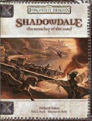 Dungeons & Dragons - Shadowdale The Scouring of the Land Hardcover ENG - NEU