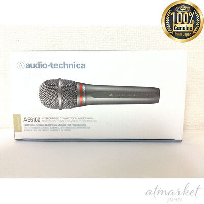 audio-technica AE6100 handheld dynamic microphone free shipping from JAPAN