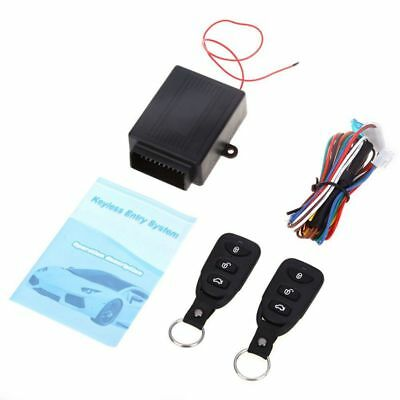 Universal Car Auto Remote Central Kit Door Lock Locking Vehicle Keyless Ent I0Q1