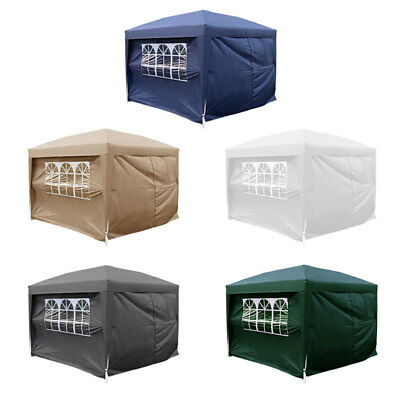 Waterproof 2x2m 2.5x2.5 3x3 3x4.5 3x6 Pop Up Gazebo Marquee Garden Wedding Party