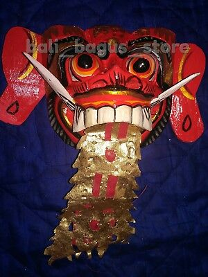 Balinese Wooden Barong Mask Perfect Decoration Free Shipping Worldwide 2018