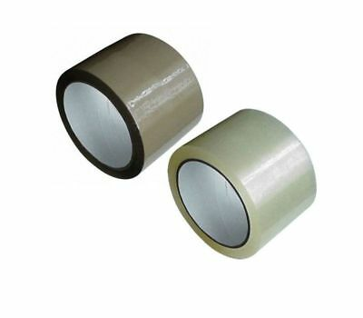( eur. 0,02 / m-eur 0,04 / M) Packing Tape Adhesive Wide 75 mm x 66 M Low Noise