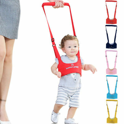 Safety Harness Baby Kids Toddler Learning Assistant Moon Walking Walker Reins AU