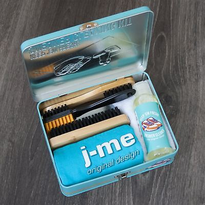 Sneaker Cleaning Kit Gift Pack Shoe Cleaning Box Brushes Solution Cloth