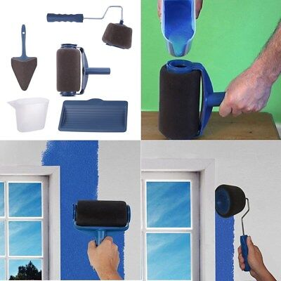 5 In 1 Professional Paint Rollers Kit Home Repair Tool for Wall Ceiling Painting