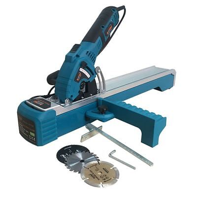 101788 KATSU Compact Plunge Circular Saw With Guide Track 600W blades Free P&P