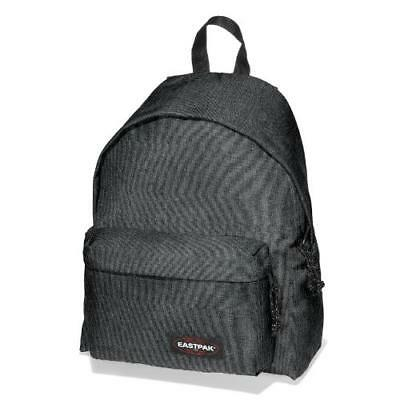 be8b2268bd Zaino Zainetto Eastpak Padded Scuola Tempo Libero Nero Black Denim Originale