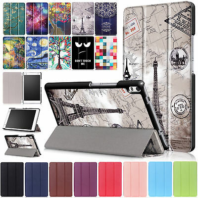 """Slim Magnetic Flip Leather Stand Case Cover For 8"""" Lenovo Tab 4 8/ 8 Plus Tablet"""