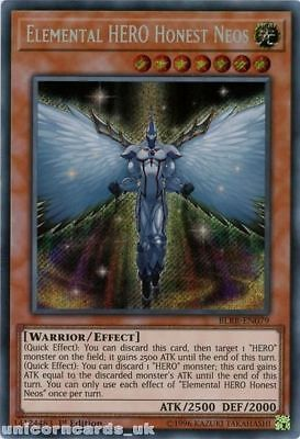 BLRR-EN079 Elemental HERO Honest Neos Secret Rare 1st Edition Mint YuGiOh Card