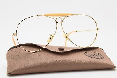 3a0bdc7dfafd94 Ray Ban Shooter 1 30 10K GO GOLD Bausch and Lomb B L U.S.A Vintage Montatura