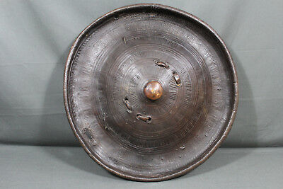 Superb large and heavy Abyssinian shield - Abyssinia area, 19th century
