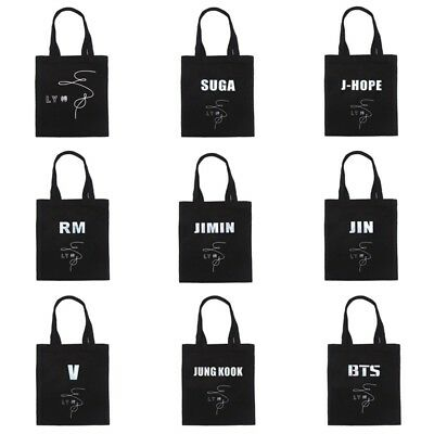 KPOP Bangtan Boys BTS LOVE YOURSELF 轉 JUNK KOOK V JIN SUGA New Album Canvas Bag