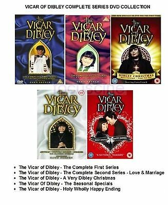 Vicar Of Dibley - Complete Series Dvd Collection Brand New And Sealed Uk R2 Dvd