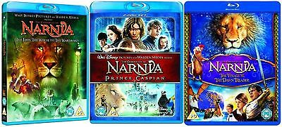 Chronicles of Narnia Trilogy 1-3 Collection Part 1 2 3 Brand New Sealed Blu Ray