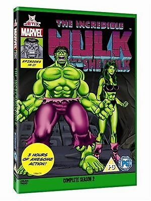 The Incredible Hulk - Complete Season Two Marvel Series 90s New UK Region 2 DVD