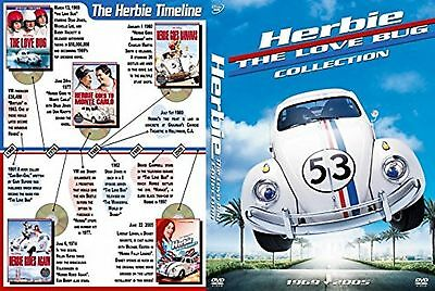 Herbie - Complete Films Collection 5 Discs Box Set Brand New Sealed Region 2 DVD