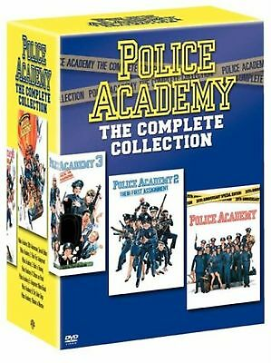 Police Academy Series 1-7 The Complete Collection 1 2 3 4 5 6 7 New Region 2 DVD