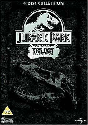 Jurassic Park Trilogy - 1 2 3 Steelbook Lost World New Original Jurrasic New DVD