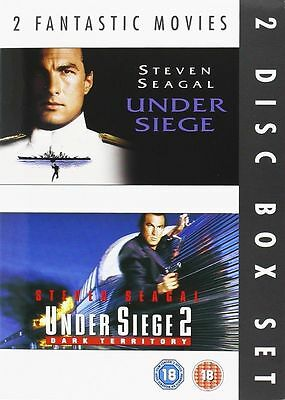 Under Siege - Series 1-2 Double Pack Steven Seagal New and Sealed Region 2 DVD
