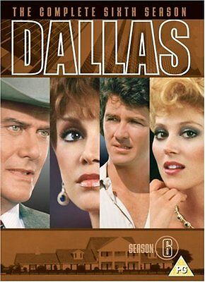 Dallas - Season 6 Victoria Principal, Patrick Duffy New Sealed UK Region 2 DVD