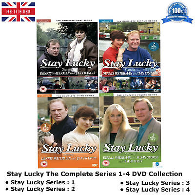 Stay Lucky - Series 1-4 The Complete Collection Season 1 2 3 4 New Region 2 DVD