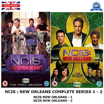 Ncis New Orleans - Complete Series 1 - 2 All Brand New Sealed Uk Region 2 Dvd