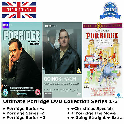 Ultimate Porridge Series 1-3 Christmas Special Complete Collection 1 2 3 NEW DVD