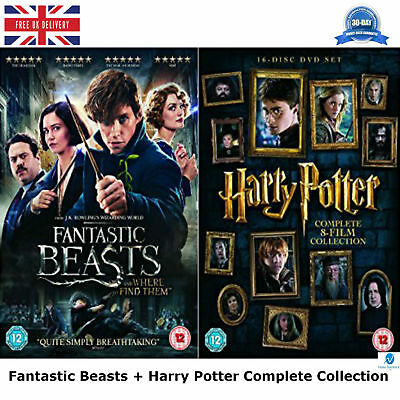 Fantastic Beasts and Where To Find Them - Digital Download Harry Potter New DVD