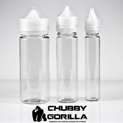 Chubby Gorilla Bottles - 30mL- 60mL - 120mL - Lot Quantities Available!