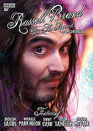 Russell Brand - On The Record Uncensored - 2010 Brand New Sealed UK Region 2 DVD