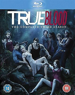 TRUE BLOOD - Complete Season 3 Anna Paquin, Sam Trammell New Sealed UK Blu-ray
