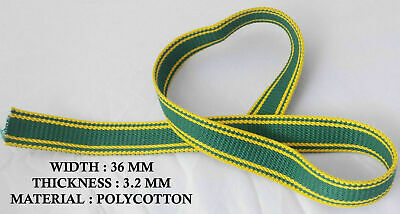 40mm CANVAS TAPE LIGHT GREY. WEBBING BELTS STRAPS ARTS CRAFTS BUNTING SEWING