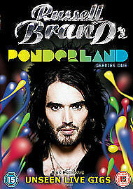 Russell Brand Ponderland - Series 1 Complete 1st First Season Toby Baker New DVD