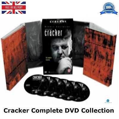 Cracker - The Complete Collection 2003 Box Set 10-Disc New Sealed Region 2 DVD