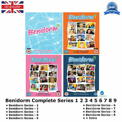 Benidorm 1-9 Choice Award for Best Comedy Complete Series 1 2 3 4 5 6 7 8 9 DVD