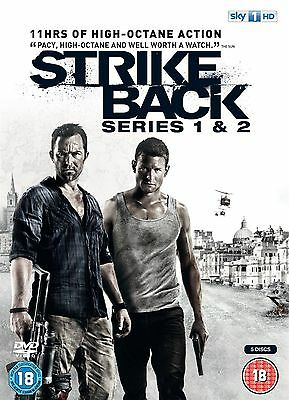Strike Back Series 1-2 Complete Collection Richard Armitage New UK Region 2 DVD