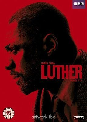 LUTHER Series 1-3 Complete BBC TV Series 1 2 3 Collection Boxset New Sealed DVD