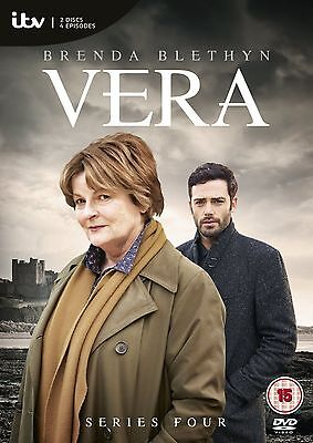 VERA ITV TV Series - 4 Complete 4th Season Collection New Sealed UK Region 2 DVD