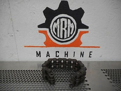 """USA No. 50 Double Roller Chain 10-1/2"""" Long Gently Used Fast Free Shipping"""
