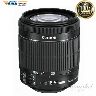 NEW Canon EF-S 18-55mm f/3.5-5.6 IS STM Lens Camera Photo genuine from JAPAN