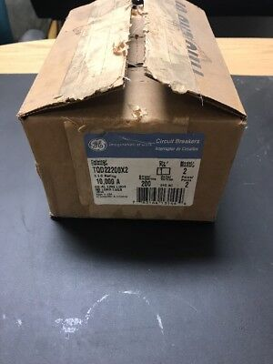 New General Electric TQD22200X2 200 Amp Circuit Breaker