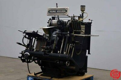 HEIDELBERG 13″ X 18″ WINDMILL LETTERPRESS - FREE Loading - Delivery Available
