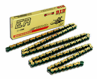 D.I.D. Gold 428 NZ Super Bike Chain Non O-Ring 60L 410WL 5340lbs DID428NZ60G