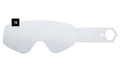 19ee5c4bffbeb Spy Optics MX Goggle Tear Offs 10 Pack Klutch Whip Targa 3 052027183001